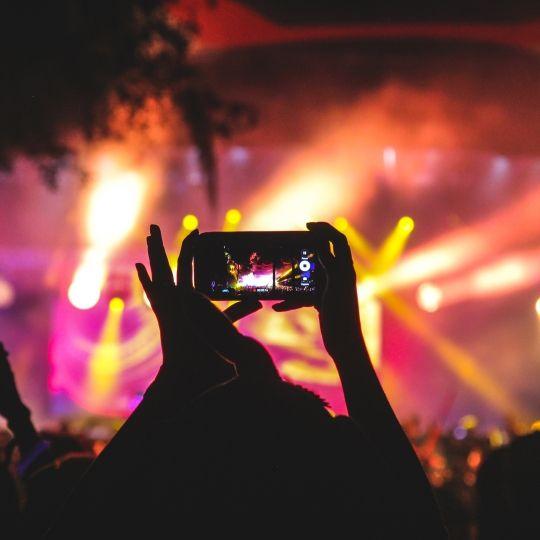 Uso de Social Media en festivales