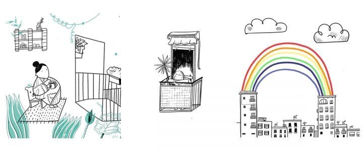Ilustración desde el confinamiento