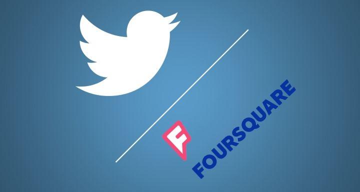 Twitter y Foursquare se lanzan al rescate de los tweets geolocalizados