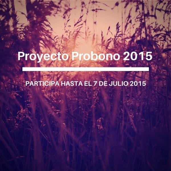 Proyecto PROBONO 2015