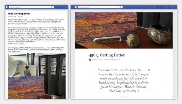 Ya puedes tener tu blog en Facebook