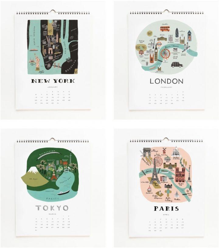 cities calendar