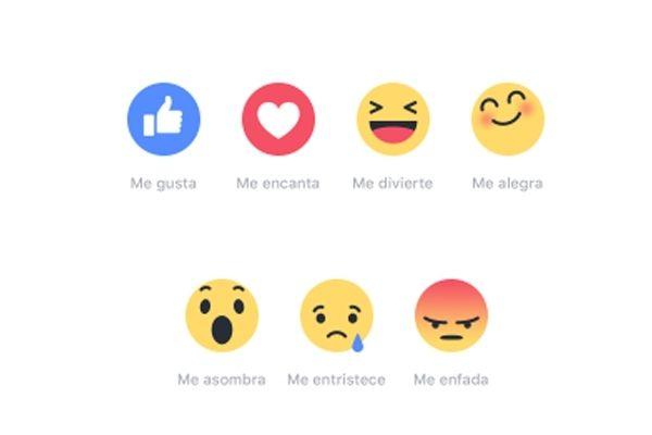 Nuevos botones en Facebook