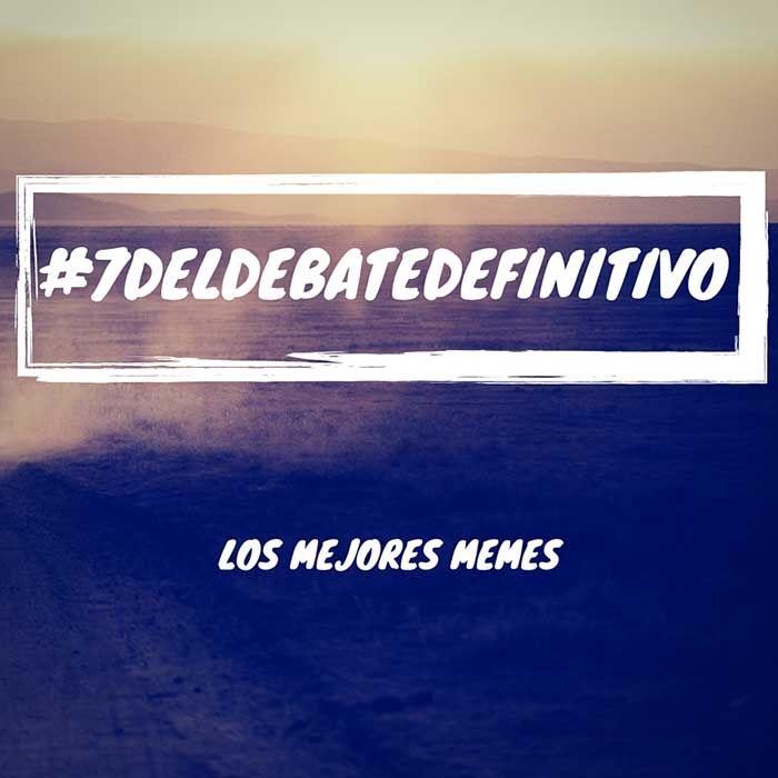 #7DElDebateDefinitivo en Twitter