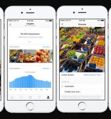 Llegan los perfiles de empresa a Instagram