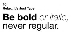10-typography-rules