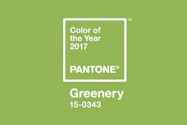 GREENERY, el color de 2017