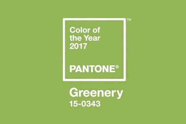 GREENERY, el color de 2017