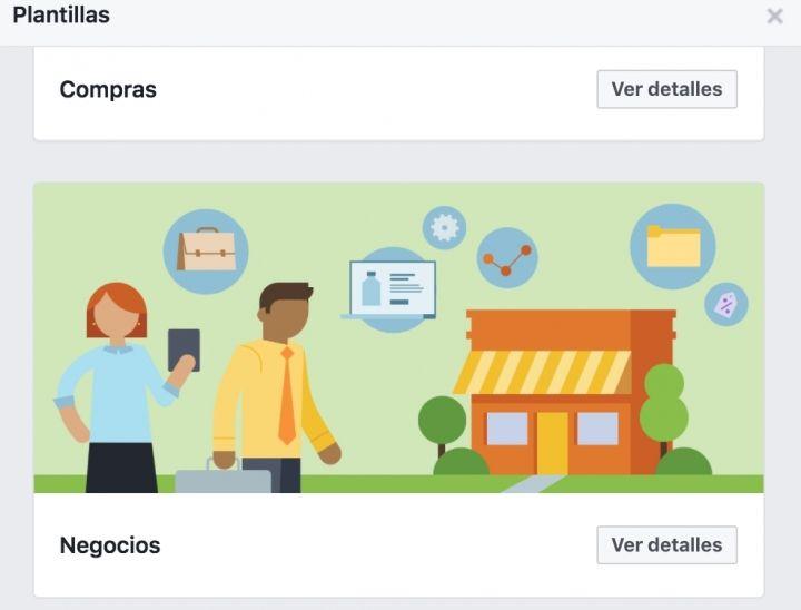 ¿Ya has elegido tu plantilla de Facebook Page?