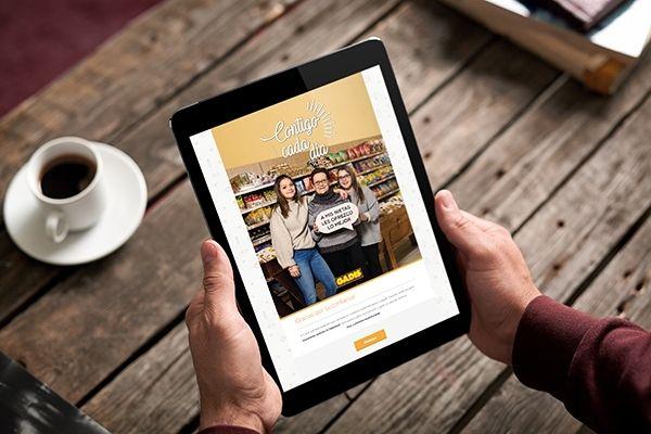 Contigo cada día: Concurso redes sociales para Supermercados Gadis