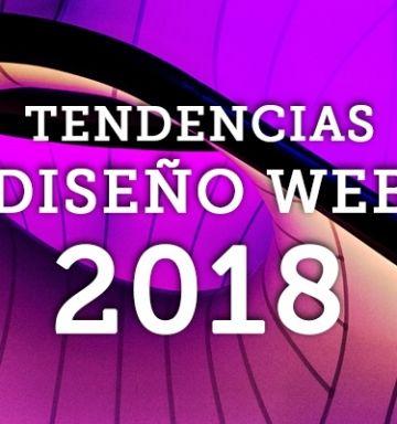 TENDENCIAS DISEÑO WEB 2018