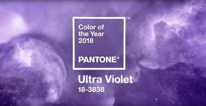 Ultra Violet, el color de 2018