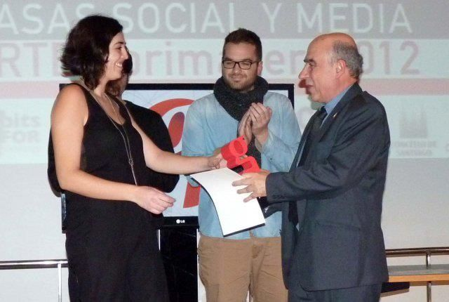 Ganadores premio EGANET a la Mejor Campaña de Comunicación Digital de Galicia 2013