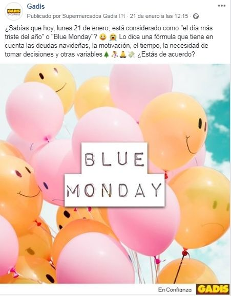 Los contenidos más divertidos para superar el Blue Monday